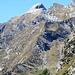 Piz de Cressim, vorne Alp de Strem (Bivacco)