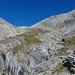 Vallone calcareo-dolomitico che porta al Colle dello Chaberton