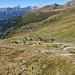 Schönes Wandergelände zwischen Bortelhütte und Bortelsee