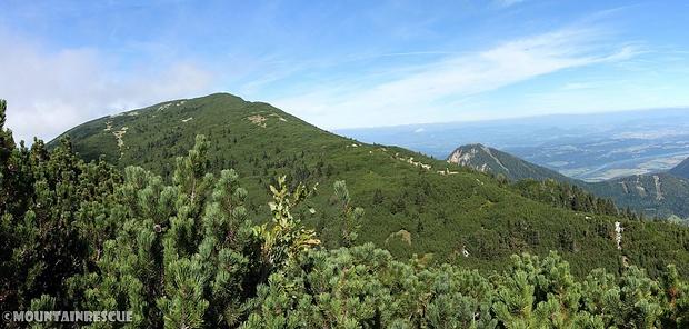 Ein laaaanger Anstieg auf den Gipfel