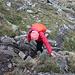Im Aufstieg zwischen La Molinassa und Refugi de Baiau - Hier auf den letzten Metern hinauf zur kleinen Schutzhütte.