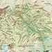 Karte von Mazedonien mit eingezeichnetem kosovarischem Landeshöhepunkt. Der 2661m hohe Gipfel auf der Grenze zwischen Mazedonien und Kosovo heisst auf Mazedonisch Велика Рудока (Velika Rudoka) und auf Albanisch Maja e Njerit. Rot eingekreist sind die von uns besuchten Orte in Mazedonien.