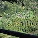 Blick auf die andere Talseite mit der Ortschaft Fang