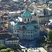 Como...il Duomo...cupola e abside...e piazza Verdi