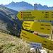 Hinter der Schafskehre ragen die Gipfel der nördlichen Karwendelkette auf. Die 1:10h zur Soiernspitze sind übrigens für extrem sportliche Geher. Ich habs nicht geschafft.