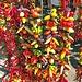 scharfe Auswahl auf dem Markt in Sineu