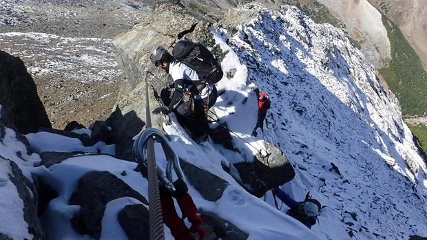 Klettersteig Jegihorn : Mittaghorn klettersteig 2687m u2013 tourenberichte und fotos [hikr.org]