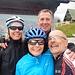 il foto di gruppo di ciclisti