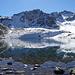 Lej Muragl<br />... wird durch den Gletscher langsam immer kleiner
