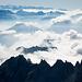 Viele tiefliegende Quellwolken