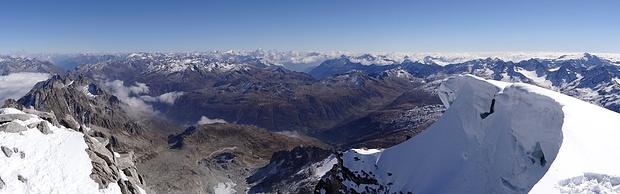 Panorama nach Südosten