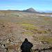 Auf dem ersten Vulkanhügel, mit Blick nach Norden.