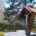 Marterl bei der Hütte