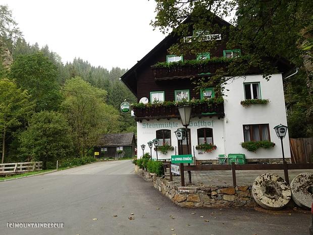 Startpunkt: das ehemalige Gasthaus Steinmühle