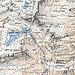 """tavola """"Basodino"""" della Carta Siegfrid (1888) che ancora riporta le vecchie vie d'alpe"""