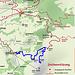 in blau die Route von Brülisau aus (ca. 830 Höhenmeter)<br />Zum Hohen Kasten geht man dann besser zu Fuss...