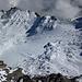 Die Reste des Gletschers von oben