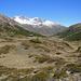 Pass da Costainas, das Tal führt hinab nach S-charl