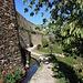 Die Trockenmauern sind bis zu 10 Meter hoch.