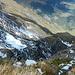 Tiefblick vom Zwölfihorn zum Hirschrudel