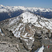 In der Bildmitte Piz Terza / Urtirolaspitz (2909m)