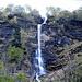 la cascata del torrente sotto Cala
