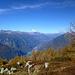 Traumhafte Herbstimmung auf dem unscheinbaren Gipfel des Spiancri