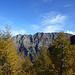 Das Gipfelziel ist in Sicht - nach fast 2000 Höhenmetern Aufstieg: Der schöne Kamm zwischen Mottone di Cava und Pizzo Magn