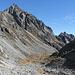 la valletta di Calnesc vista dal sentiero per la Bocchetta della Cròsa