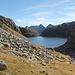 Lago Piccolo della Cròsa visto da Calnesc