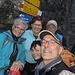 alle noch frisch und munter - die ersten 1200 Höhenmeter haben wir ja leicht geschafft... / hier auf der Bergstation Älpli