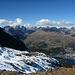 Blick nach St. Moritz