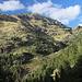 Unterwegs bei La Molinassa - Blick hinüber auf die gegenüberliegende Talseite zum Refugi Vallferrera. Während unserer Tour zum Pica d'Estats werden wir dort in der Morgen- und Abenddämmerung vorbeiwandern. Foto vom 11.09.2015.