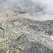 Einer der raren Blicke zum Gotthardpass zurück