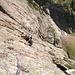 L'escalade est souvent un peu plus délicate que ne le laisse supposer les images.