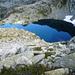 Lago d'Orsalia, 2144m, am Aufstieg zur Bocchetta d'Orsalia