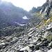 Bocchetta d'Orsalia, 2443m, beim Aufstieg vom Lago d'Orsalia