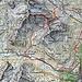 Route von GPS aufgezeichnet