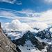 Ganz links im Bild der Gipfel des Titlis