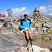 Pizzo di Vogorno: [u sursass58] macht den Eintrag ins Gipfelbuch.