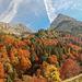 Fantastische Herbstfarben im Bärgündeletal.