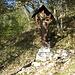 crocefisso prima della capanna Mara