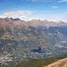 Vinschgau mit dem Namensgeber des Berges, Naturns