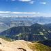 Blick Richtung Dolomiten, Bozener Becken