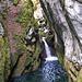 Wasser zersägt Felsen