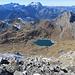 Lac Superieur de Fully, im Hintergrund Dents du Midi