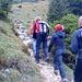 Zuletzt geht's über einen Steig in den Sattel zwischen Kesselwand und Wildalpjoch.