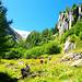 Der Wanderweg nach Les Grands führt durch eine herrliche Landschaft!