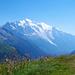 Der majestätische Mont Blanc
