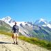 Im Abstieg zum Col des Posettes